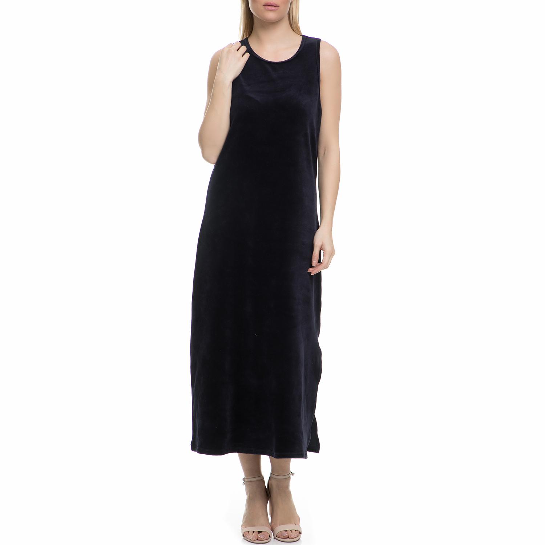 JUICY COUTURE - Γυναικείο αμάνικο μάξι φόρεμα Juicy Couture σκούρο μπλε γυναικεία ρούχα φορέματα μάξι