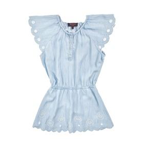 c56d5630407 JUICY COUTURE KIDS. Κοριτσίστικο φόρεμα JUICY COUTURE γαλάζιο