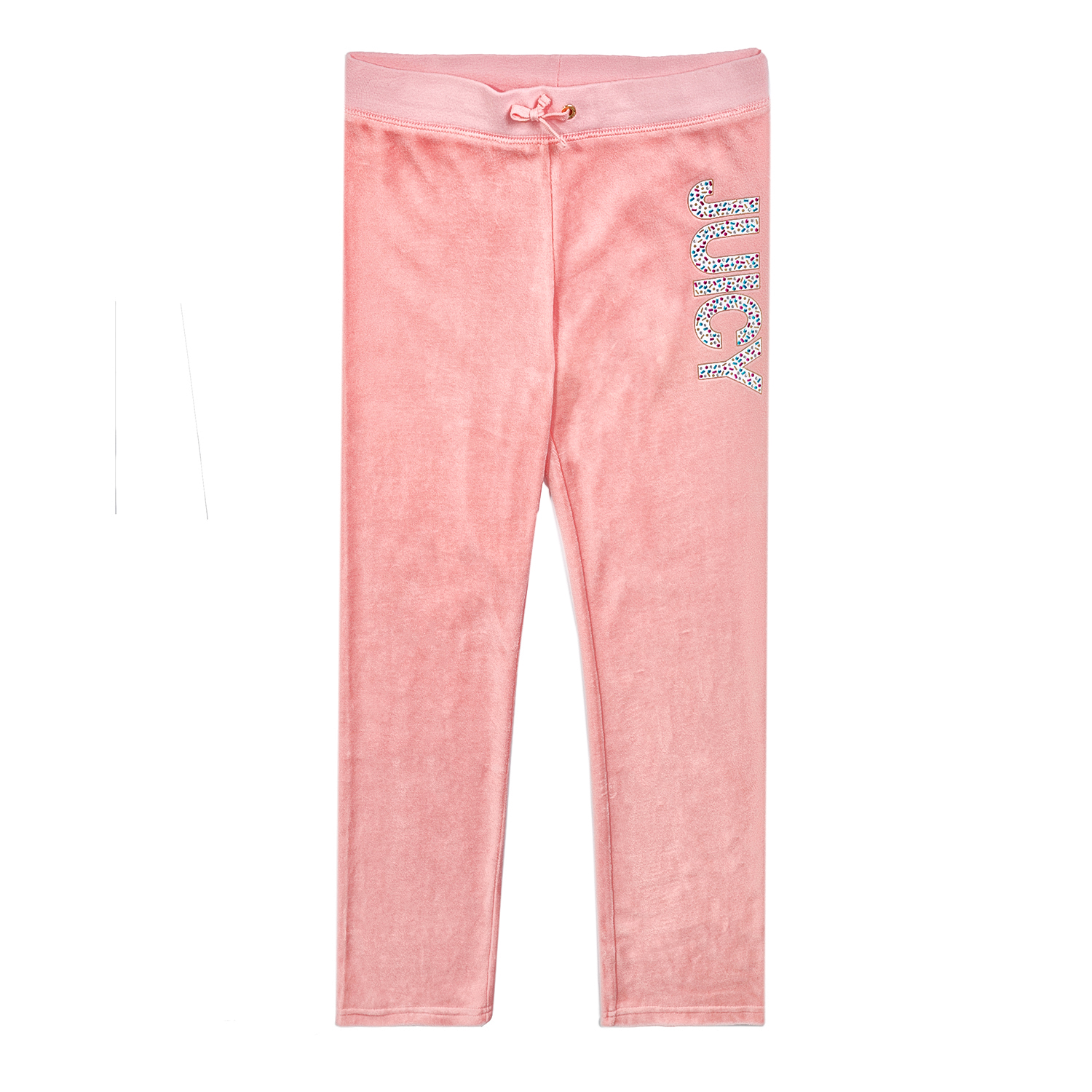 JUICY COUTURE KIDS - Κοριτσίστικο παντελόνι φόρμας JUICY COUTURE GLAM SPRINKLES  παιδικά girls ρούχα παντελόνια