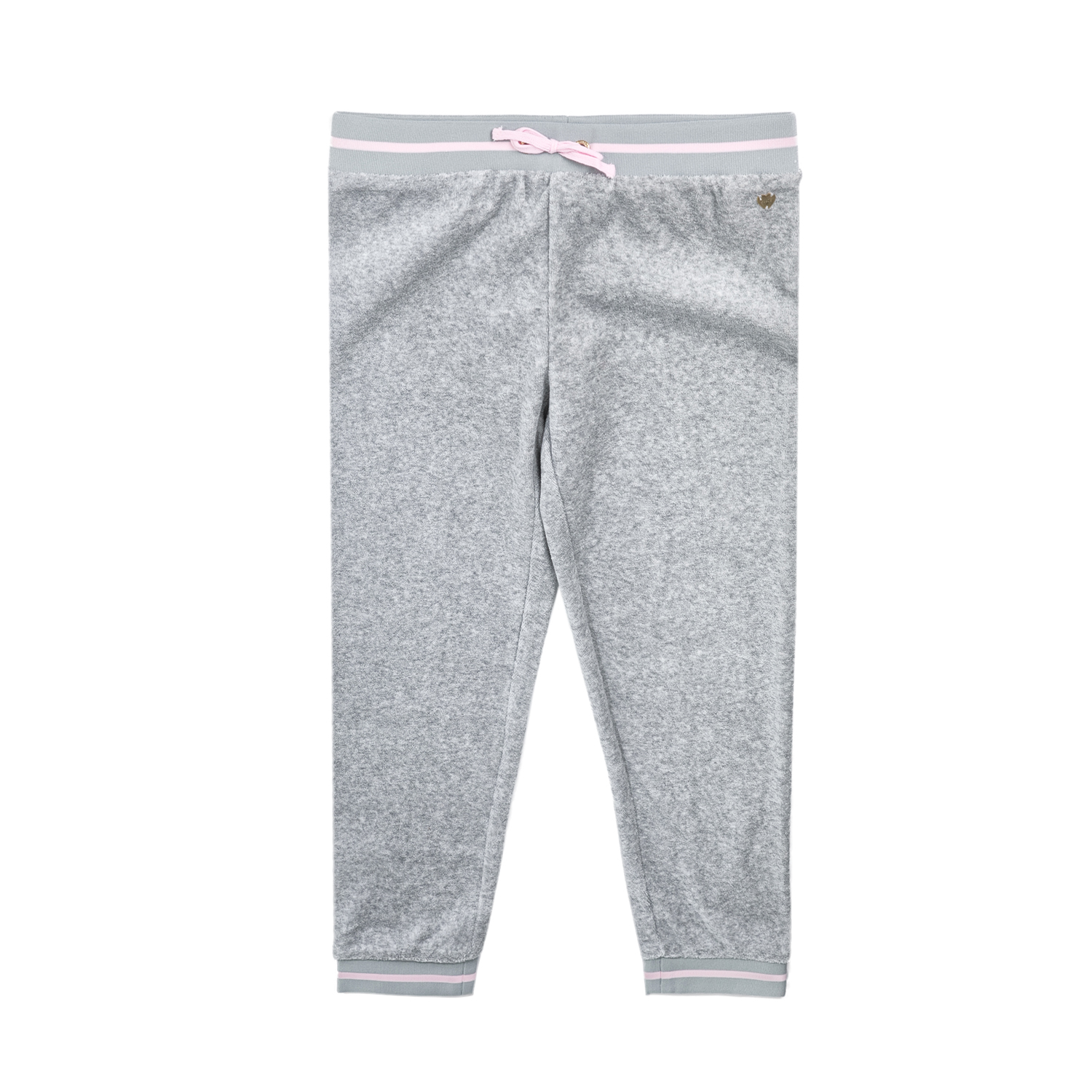 JUICY COUTURE KIDS - Κοριτσίστικο παντελόνι φόρμας JUICY COUTURE MICROTERRY LA S παιδικά girls ρούχα παντελόνια