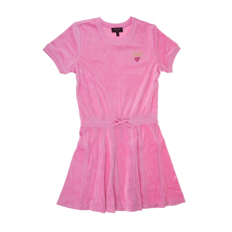 cb2fc9dba5e6 Κοριτσίστικο φόρεμα JUICY COUTURE HEART EXPRESSIONS ροζ - JUICY COUTURE  KIDS (1532826.0-00p7) | Factory Outlet