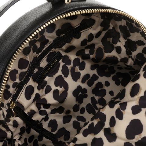 JUICY COUTURE-Γυναικείο σακίδιο πλάτης JUICY COUTURE ZEPHYR λευκό-μαύρο