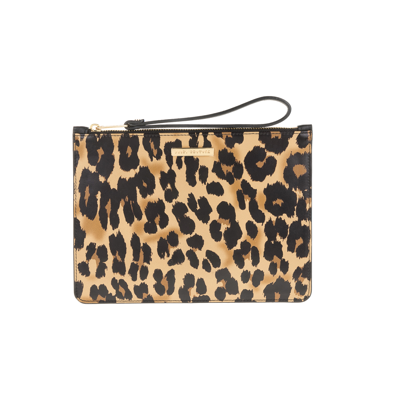 JUICY COUTURE - Τσαντάκι-πορτοφόλι JUICY COUTURE ZEPHYR LEOPARD MEDIUM