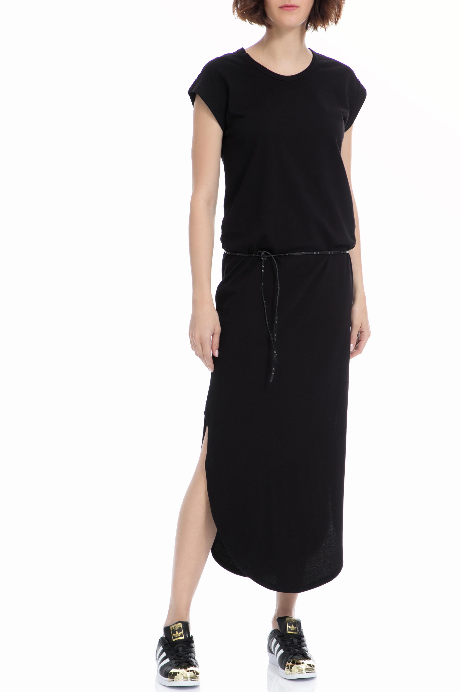 SCOTCH & SODA - Φόρεμα Maison Scotch μαύρο γυναικεία ρούχα φορέματα μάξι
