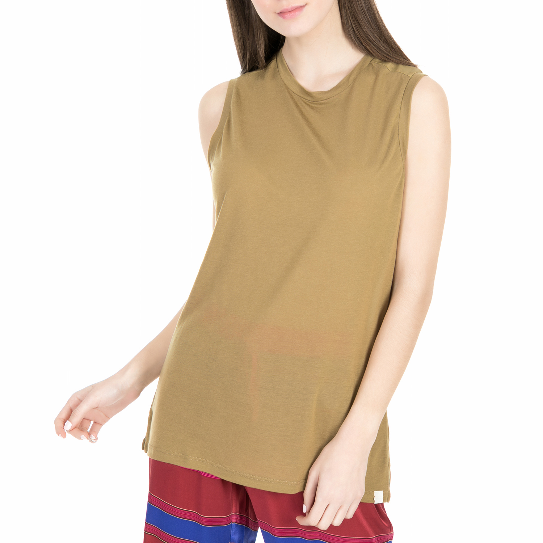 SCOTCH & SODA - Γυναικεία αμάνικη μπλούζα Scotch & Soda Sleeveless top in soft j γυναικεία ρούχα μπλούζες αμάνικες