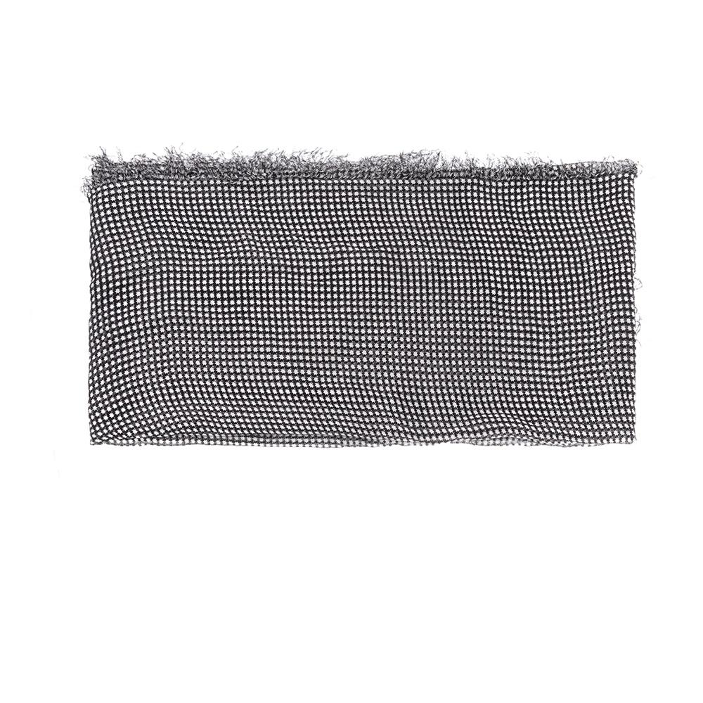 SCOTCH & SODA - Γυναικείο φουλάρι MAISON SCOTCH μαύρο-λευκό γυναικεία αξεσουάρ φουλάρια κασκόλ γάντια