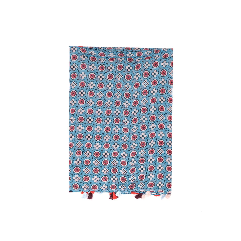 SCOTCH & SODA - Φουλάρι MAISON SCOTCH μπλε γυναικεία αξεσουάρ φουλάρια κασκόλ γάντια