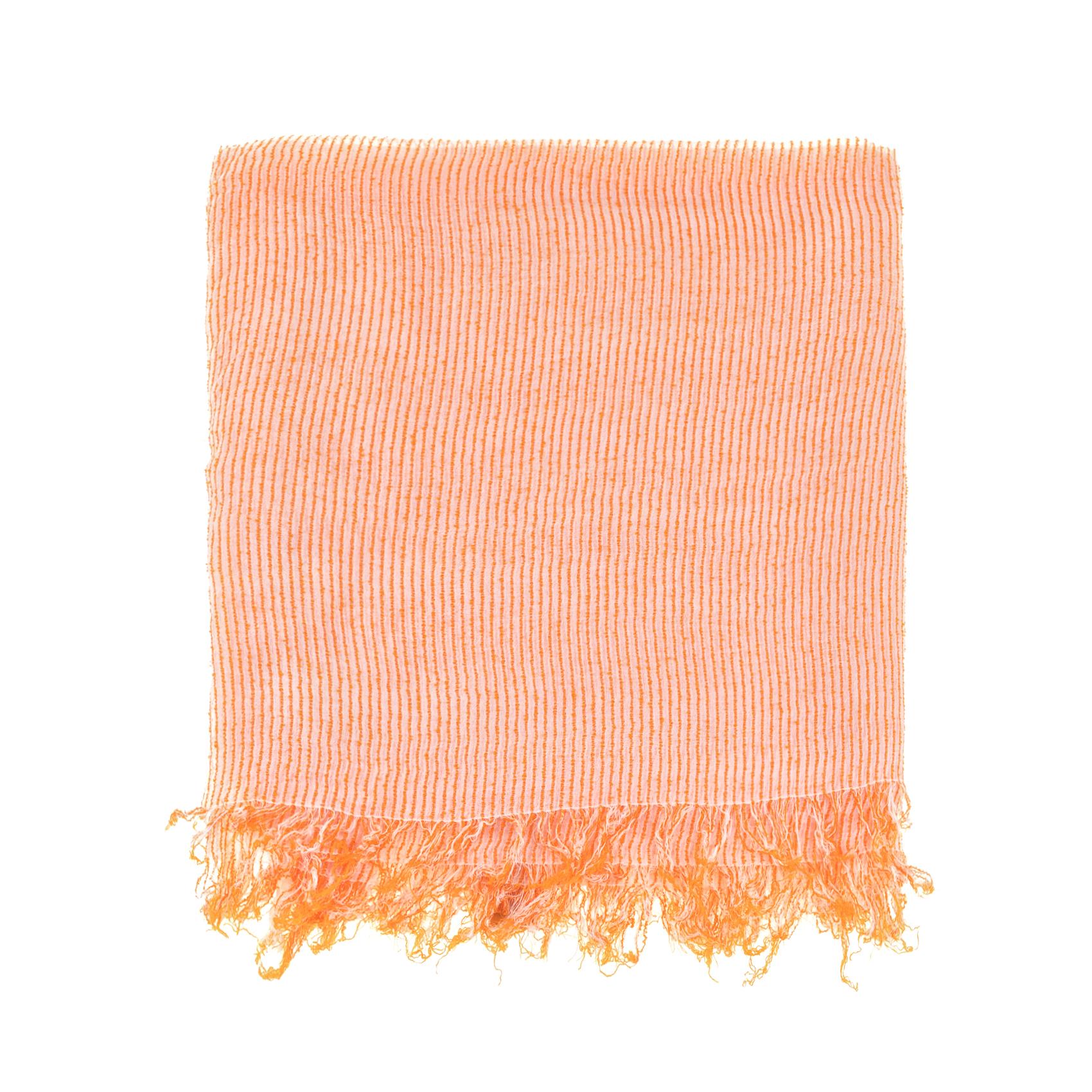 SCOTCH & SODA - Γυναικείο φουλάρι SCOTCH & SODA πορτοκαλί γυναικεία αξεσουάρ φουλάρια κασκόλ γάντια