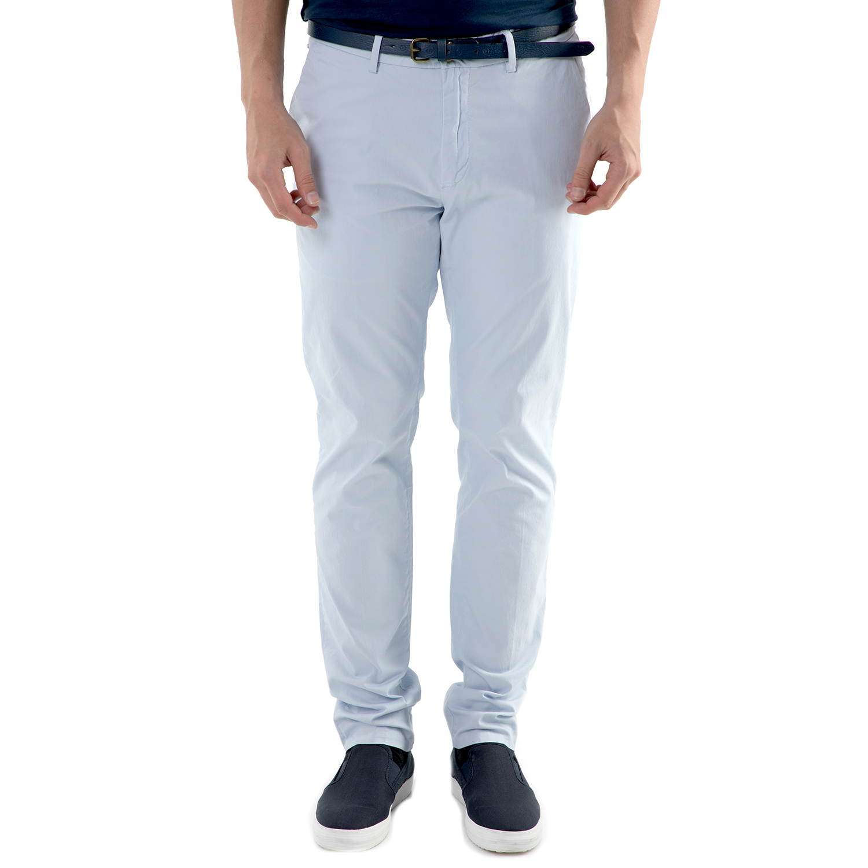 SCOTCH & SODA - Ανδρικό chino γαλάζιο παντελόνι Scotch & Soda Classic chino in s ανδρικά ρούχα παντελόνια chinos