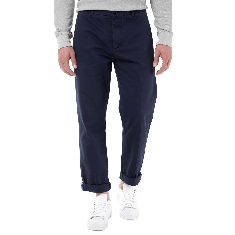 SCOTCH & SODA - Ανδρικό chino παντελόνι SCOTCH & SODA μπλε ανδρικά ρούχα παντελόνια chinos