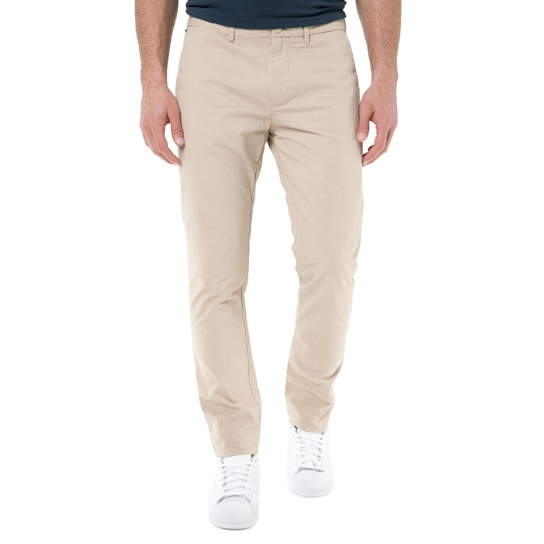 SCOTCH & SODA - Ανδρικό chino παντελόνι SCOTCH & SODA μπεζ ανδρικά ρούχα παντελόνια chinos