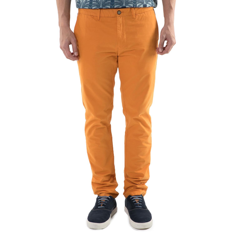 SCOTCH & SODA - Ανδρικό chino παντελόνι Scotch & Soda πορτοκαλί ανδρικά ρούχα παντελόνια chinos