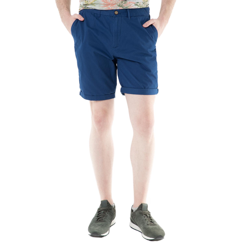 SCOTCH & SODA - Ανδρική βερμούδα chino Scotch & Soda μπλε ανδρικά ρούχα σορτς βερμούδες casual jean