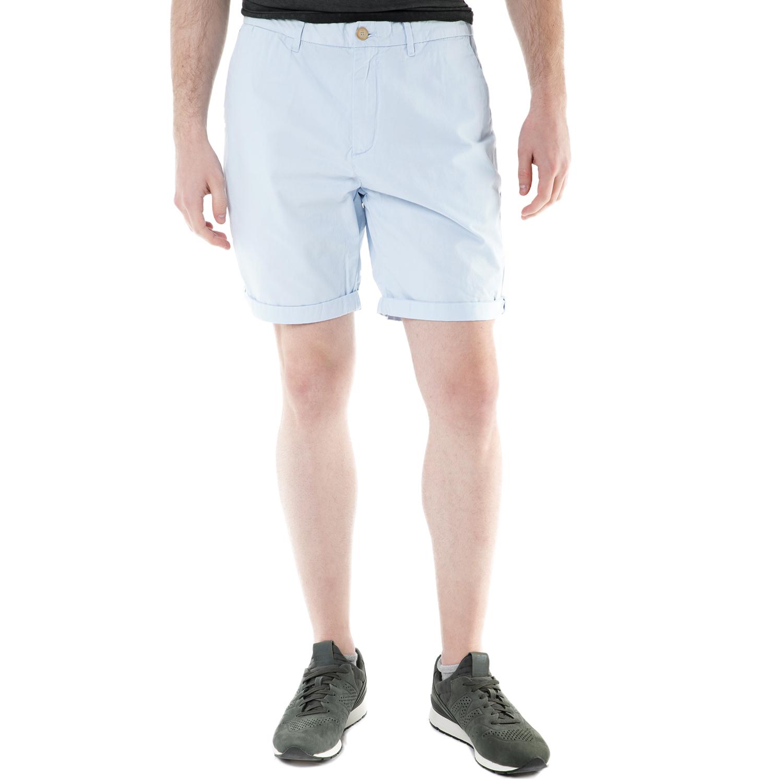 SCOTCH & SODA - Ανδρική βερμούδα chino Scotch & Soda γαλάζια ανδρικά ρούχα σορτς βερμούδες casual jean