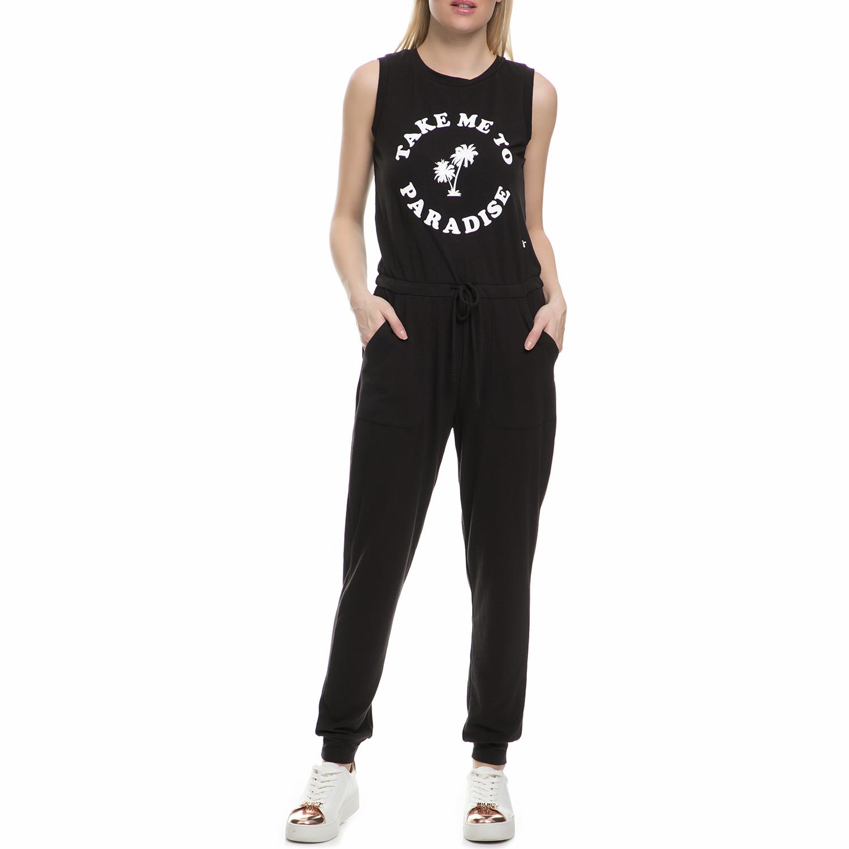 JUICY COUTURE - Γυναικεία ολόσωμη φόρμα Juicy Couture TAKE ME TO PARADISE μαύρη