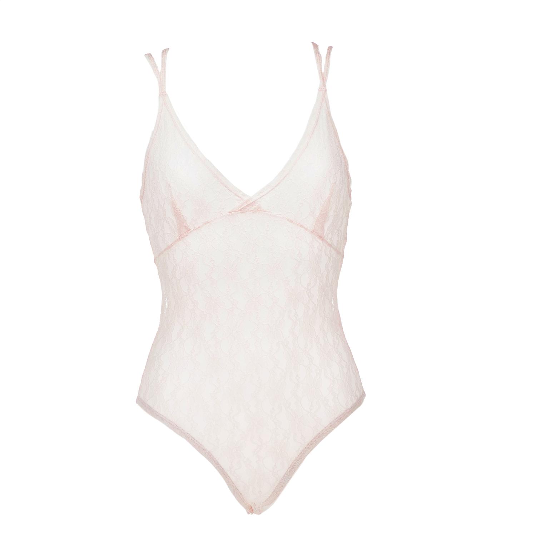 JUICY COUTURE - Κορμάκι JUICY COUTURE ροζ γυναικεία ρούχα εσώρουχα κορμάκια