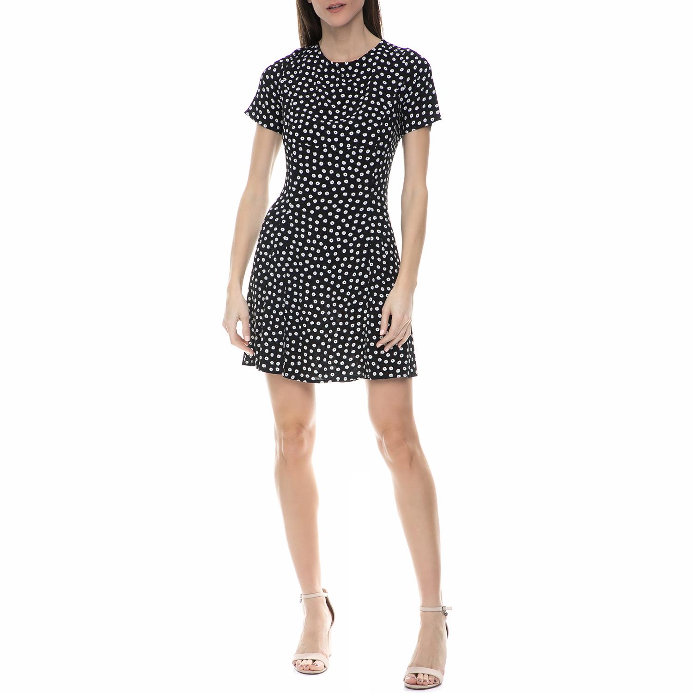 JUICY COUTURE - Γυναικείο μίνι φόρεμα Juicy Couture μαύρο φλοράλ γυναικεία ρούχα φορέματα μίνι