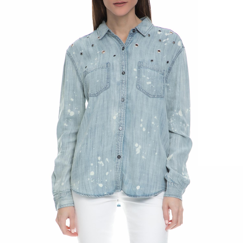 JUICY COUTURE - Γυναικείο denim μακρυμάνικο πουκάμισο Juicy ...