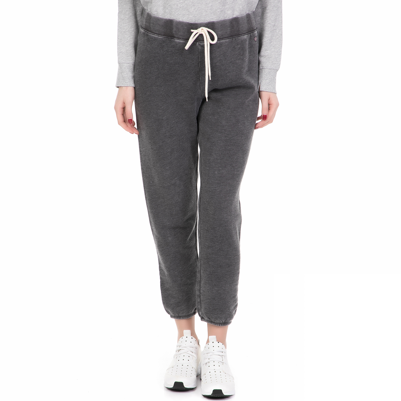 JUICY COUTURE - Γυναικείο παντελόνι φόρμας KNIT LAZY DAZE JUICY COUTURE γκρι γυναικεία ρούχα παντελόνια φόρμες