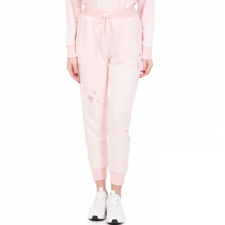 8d1f361911 Γυναικείο παντελόνι φόρμας DISTRESSED MINERAL WASH JUICY COUTURE ροζ ...
