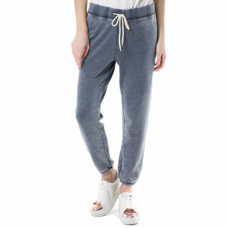 JUICY COUTURE - Γυναικείο παντελόνι φόρμας cabana sweatpant Juicy Couture μπλε γυναικεία ρούχα παντελόνια φόρμες