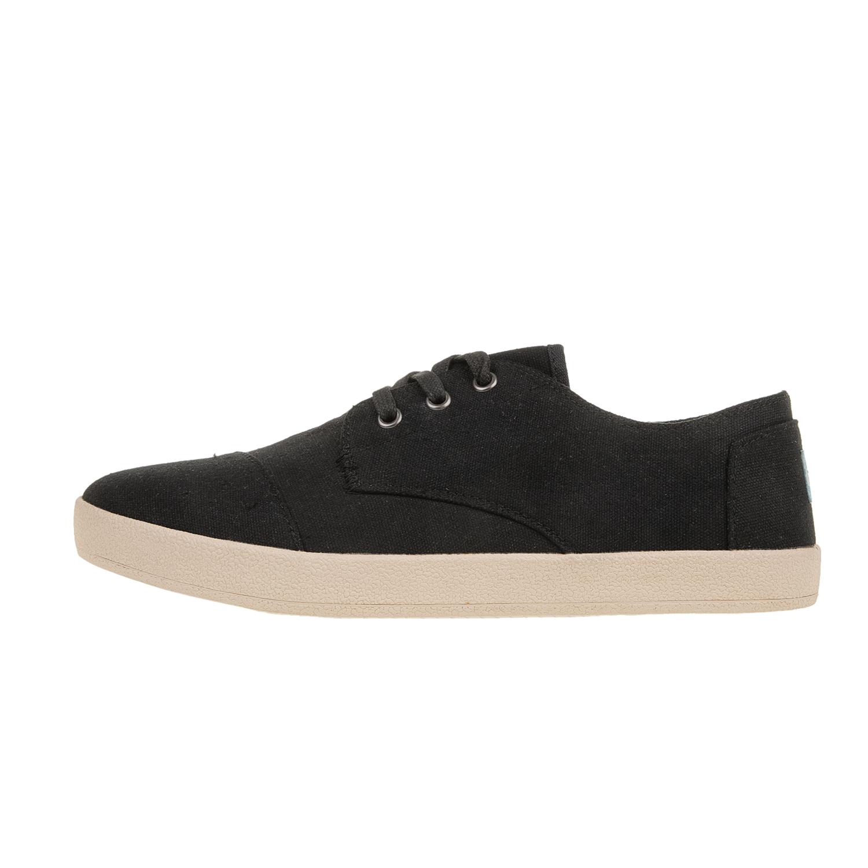 43e1b1839263 TOMS - Ανδρικά δετά παπούτσια TOMS μαύρα, Ανδρικά sneakers, ΑΝΔΡΑΣ ...