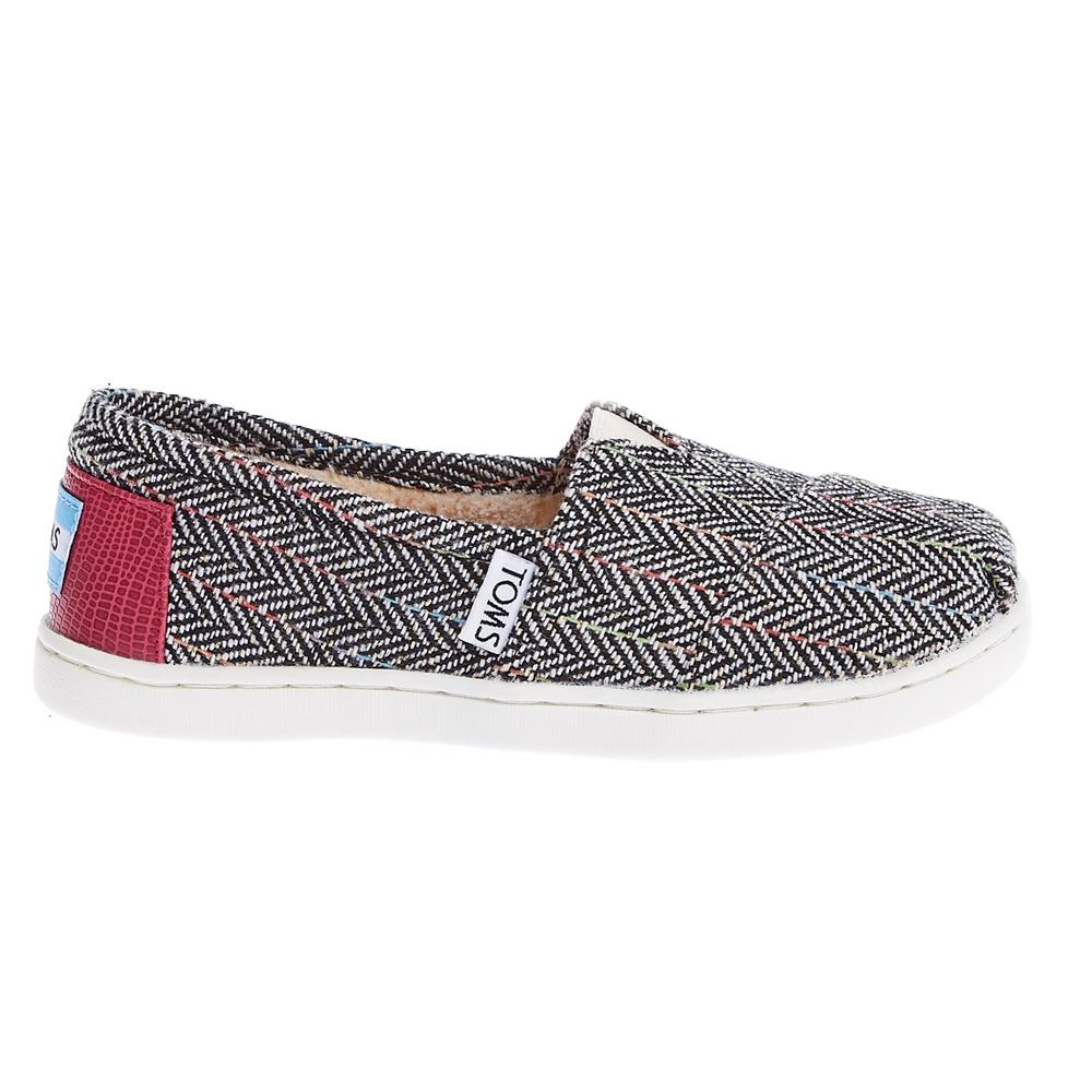 TOMS - Παιδικές εσπαντρίγιες TOMS γκρι παιδικά boys παπούτσια εσπαντρίγιες slip on