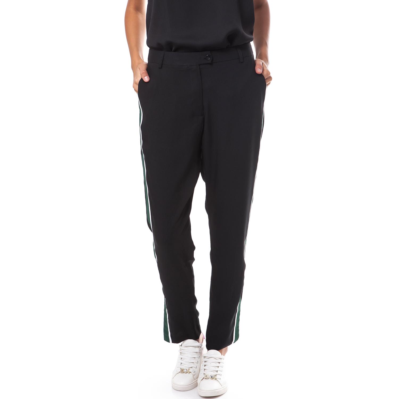 MY TIFFANY - Γυναικείο παντελόνι MY TIFFANY μαύρο γυναικεία ρούχα παντελόνια ισια γραμμή