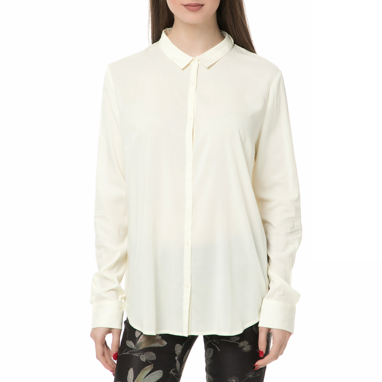 AMERICAN VINTAGE – Γυναικείο μακρυμάνικο πουκάμισο American Vintage CODY115H16 εκρού
