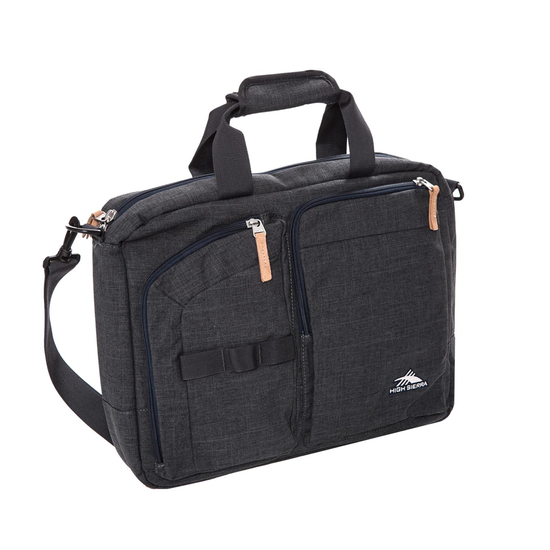 HIGH SIERRA (TRAVEL) - Τσάντα laptop/backpack High Sierra MAPUTO BRIEFCASE γκρι γυναικεία αξεσουάρ τσάντες σακίδια πλάτης