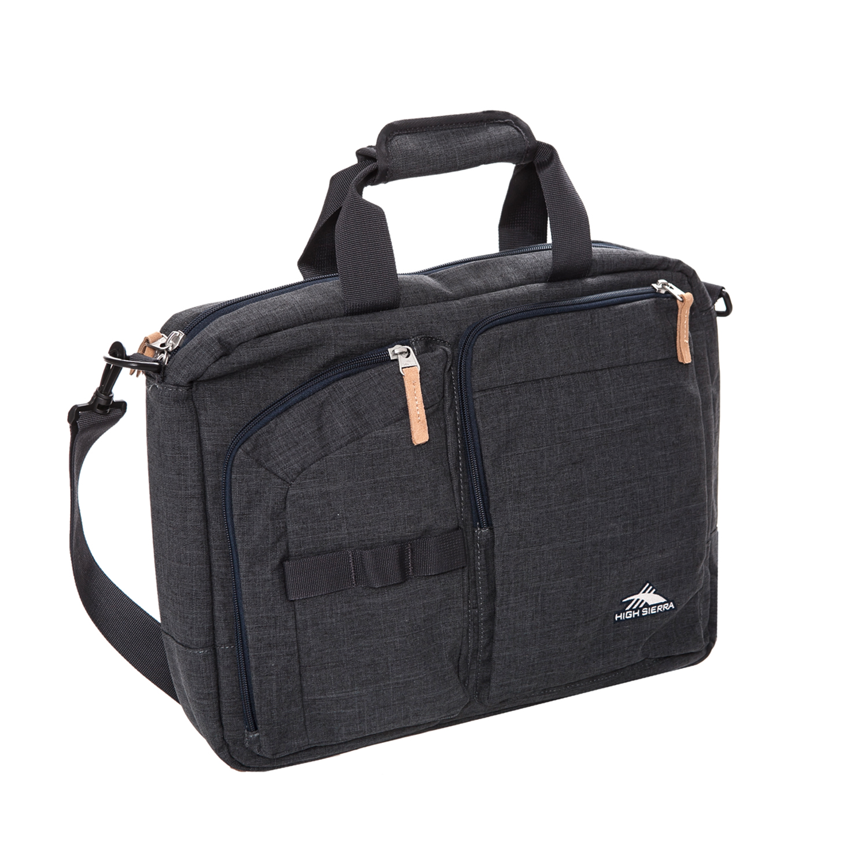 7942778915 HIGH SIERRA - Τσάντα laptop backpack High Sierra MAPUTO BRIEFCASE γκρι ⋆  pressmedoll.gr