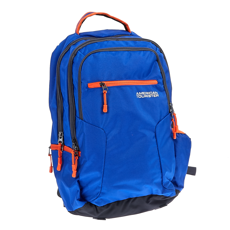 AMERICAN TOURISTER - Τσάντα πλάτης AMERICAN TOURISTER μπλε γυναικεία αξεσουάρ τσάντες σακίδια χαρτοφύλακες τσάντες laptop