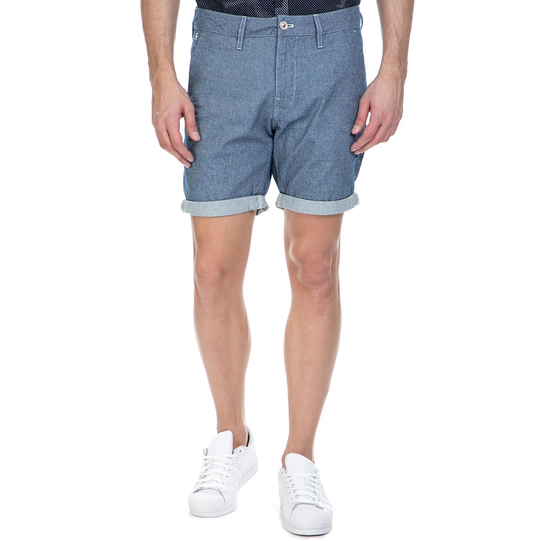 G-STAR RAW - Ανδρική βερμούδα G-Star Raw Bronson μπλε ανδρικά ρούχα σορτς βερμούδες casual jean