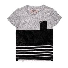 GARCIA JEANS-Κοντομάνικη μπλούζα GARCIA JEANS γκρι