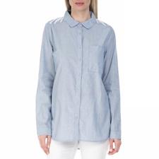 GARCIA JEANS-Γυναικείο πουκάμισο GARCIA JEANS γαλάζιο