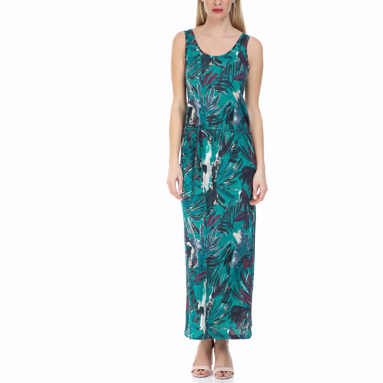 GARCIA JEANS - Μάξι φόρεμα GARCIA JEANS με μοτίβο γυναικεία ρούχα φορέματα μάξι