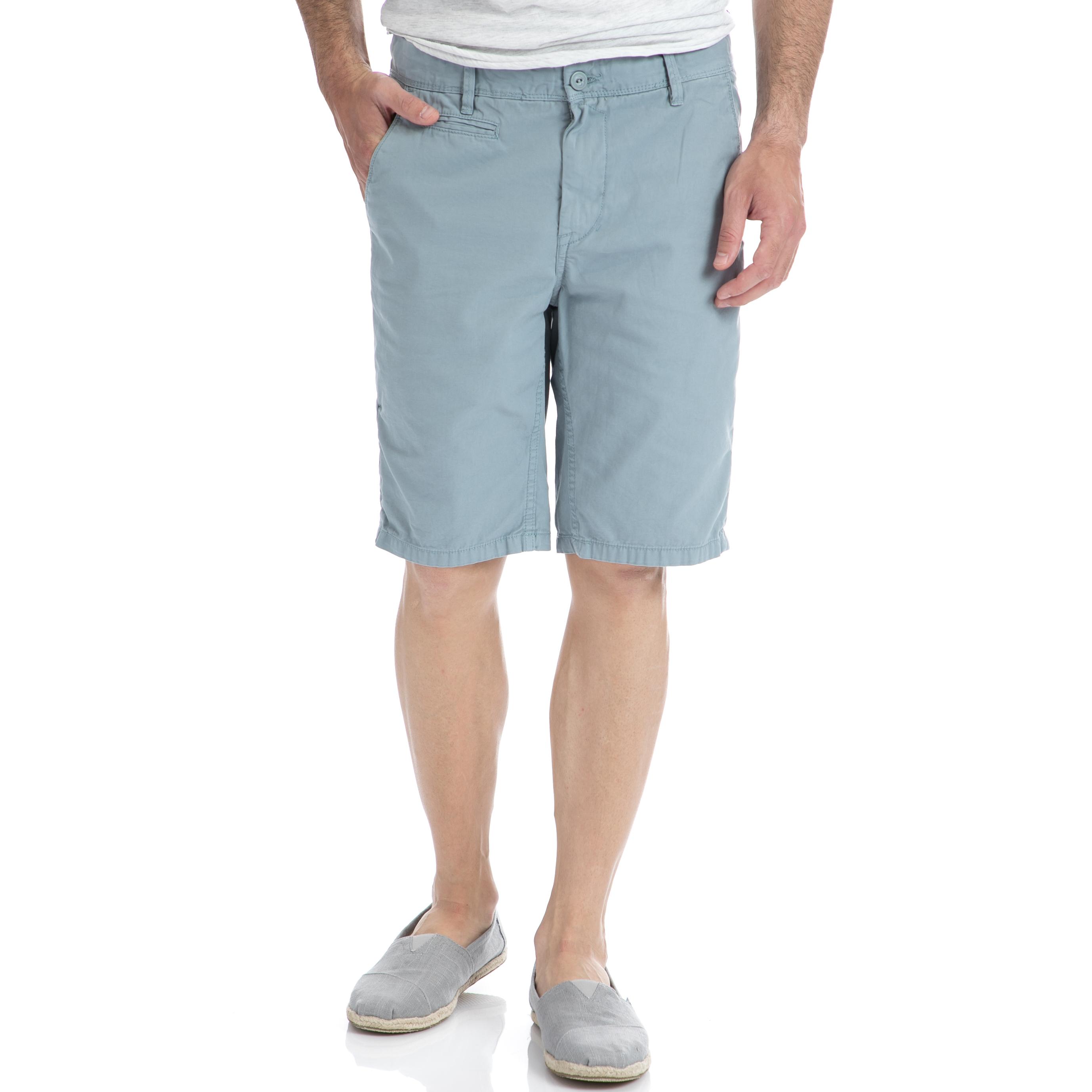 GARCIA JEANS - Αντρική βερμούδα Garcia Jeans μπλε ανδρικά ρούχα σορτς βερμούδες casual jean