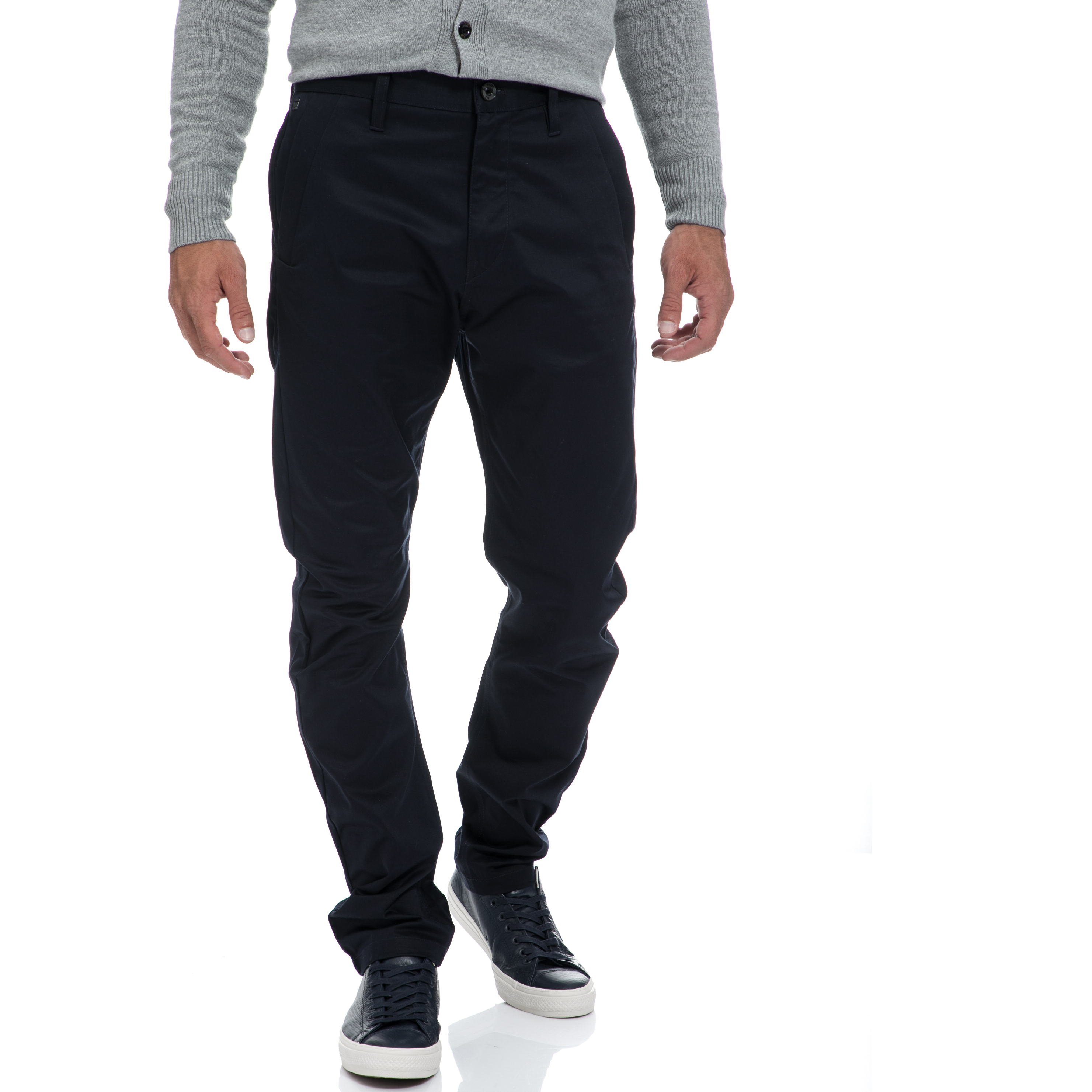 G-STAR RAW - Αντρικό παντελόνι G-STAR RAW μπλε ανδρικά ρούχα παντελόνια chinos