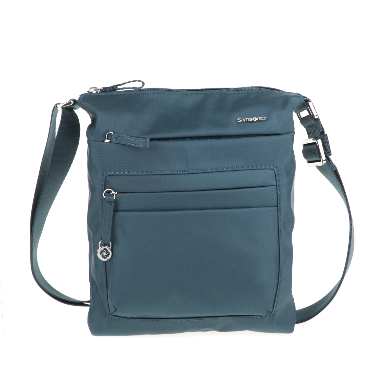 SAMSONITE - Γυναικεία μίνι τσάντα χιαστί MOVE 2.0 SAMSONITE μπλε γυναικεία αξεσουάρ τσάντες σακίδια ταξιδίου