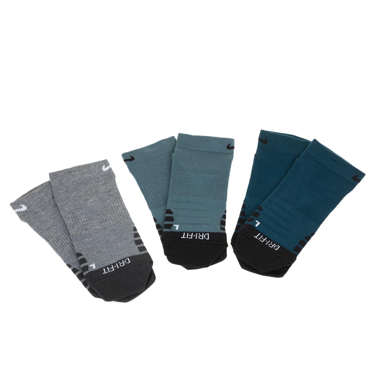 NIKE - Σετ από 3 ζευγάρια κάλτσες προπόνησης Nike Everyday Max Lightweight γκρι- γυναικεία αξεσουάρ κάλτσες