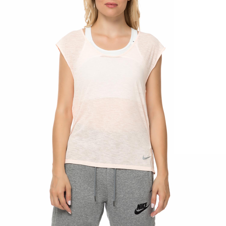 704e9155adb2 NIKE - Γυναικεία κοντομάνικη μπλούζα Nike Breathe Cool ροζ