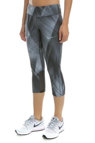 NIKE-Γυναικείο αθλητικό κάπρι κολάν Nike Epic Run 3/4 γκρι