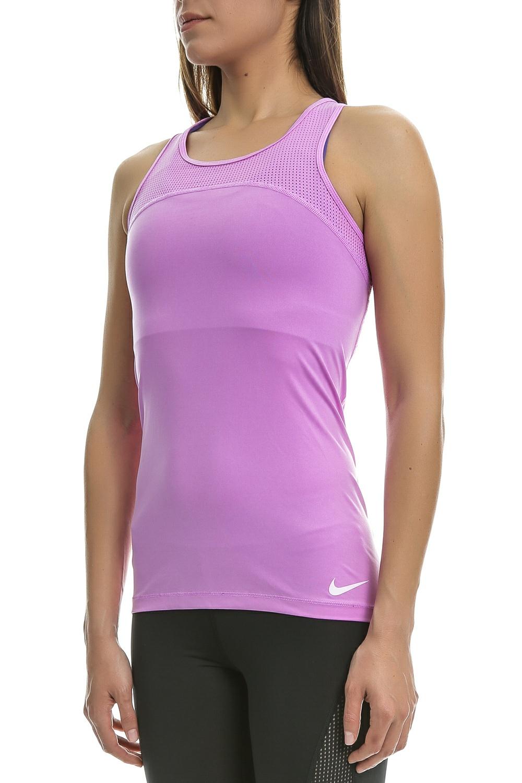 d6f144c92237 NIKE - Γυναικείο αθλητικό φανελάκι Nike μαύρο μοβ