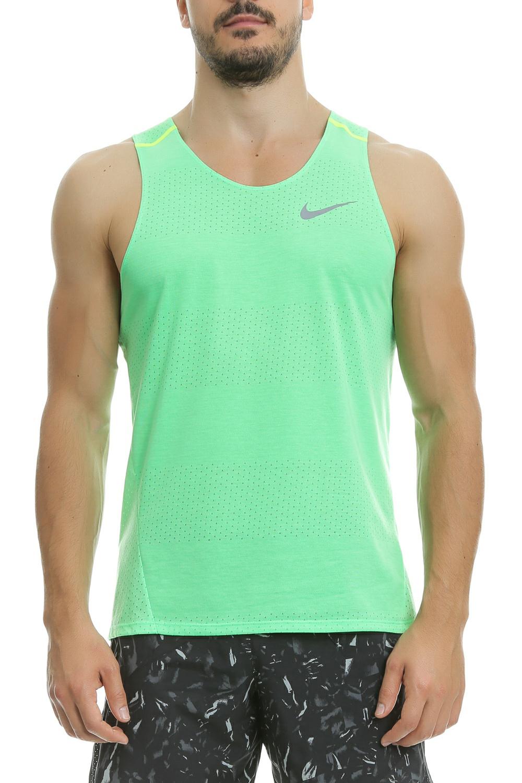 NIKE - Αμάνικη μπλούζα Nike πράσινη ανδρικά ρούχα αθλητικά t shirt