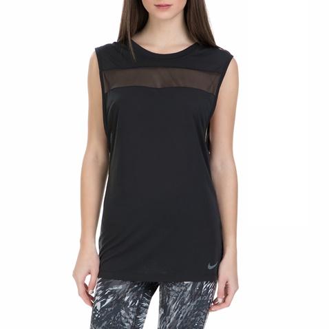 ab4f566da6e6 Γυναικεία αθλητική αμάνικη μπλούζα Nike Breathe μαύρη (1539623.1-7394)