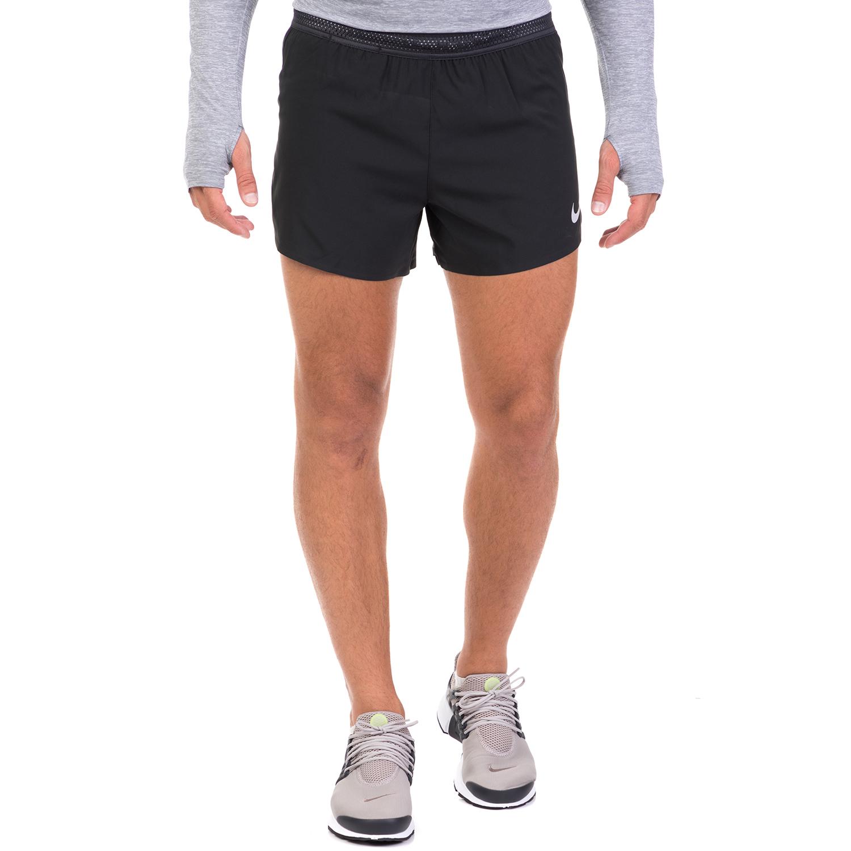 NIKE - Ανδρικό σορτς για τρέξιμο NIKE AROSWFT SHORT 4IN μαύρο
