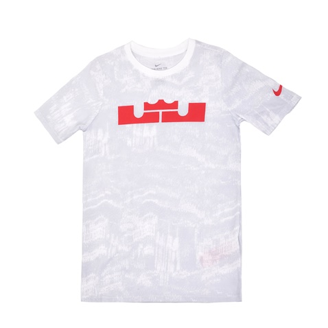 NIKE-Αγορίστικη κοντομάνικη μπλούζα Nike λευκή