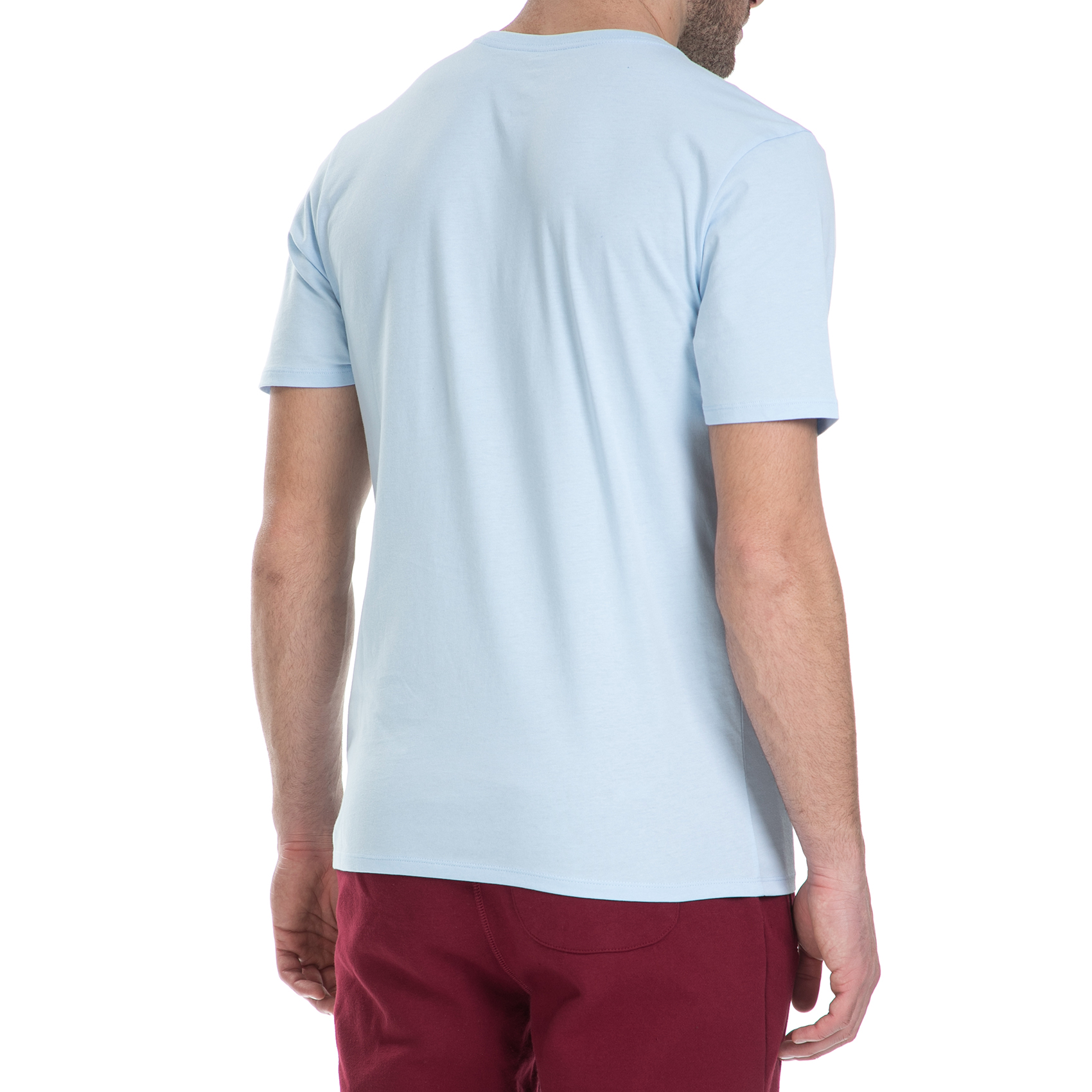 NIKE - Κοντομάνικη μπλούζα Nike Air Jordan γαλάζια