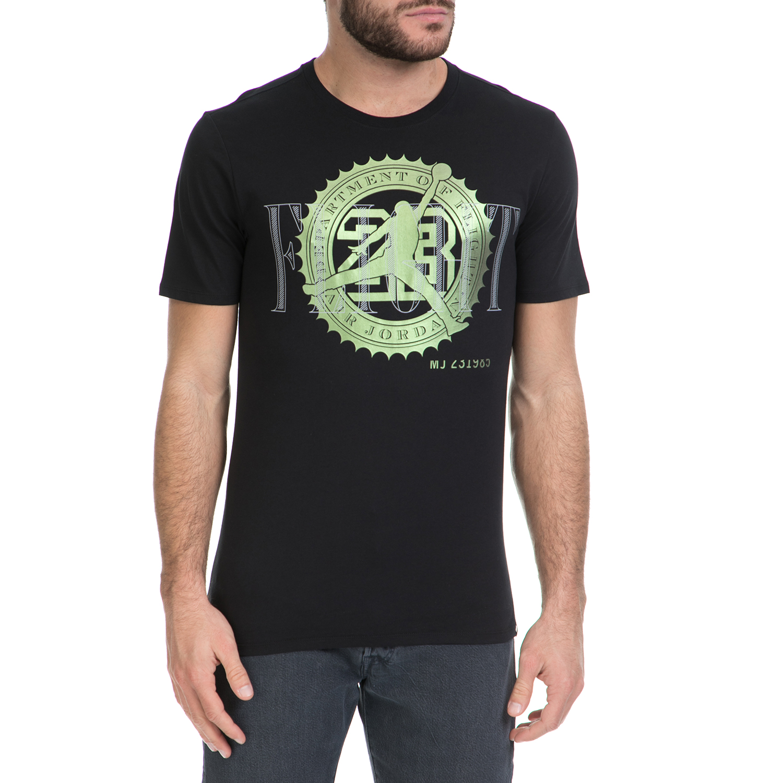 NIKE - Ανδρικό T-shirt NIKE PURE MONEY BANK NOTE μαύρο ανδρικά ρούχα αθλητικά t shirt