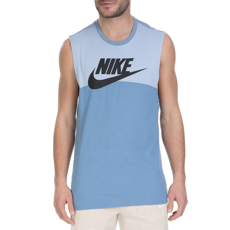 NIKE - Αμάνικη μπλούζα Nike γαλάζια